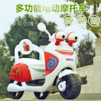 新款儿童电动车摩托车极速蜗牛可坐男女宝宝电瓶车踏板小木兰