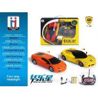 552A车模型 1:24方向盘电动四通遥控车 重力感应儿童仿真玩具汽车