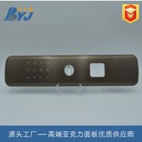 厂家定制 2018爆款新品 丝印加工 高硬度亚克力面板 电子电器面板