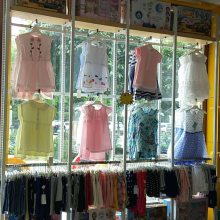 童装店展架 服装店展柜 高端中低端货架 衣服道具衣架 母婴店货架