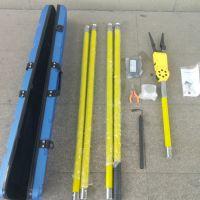 海川手持式线缆附挂机 高空电缆捆绑机 全自动线缆附挂机