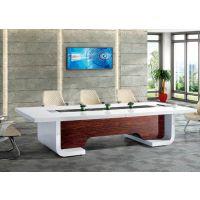 南京办公桌椅厂家供应实木会议桌