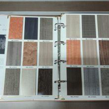 深圳 纸壳木饰面板样品册 双面彩印裱纸 A4 A5 价格低