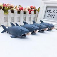 吃人鲨鱼挤眼挤压玩具玩偶整人整蛊发泄玩具吓人愚人节搞怪类公仔