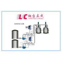 反应釜定量投料计量系统、山东烟台立成反应釜自动配料、流量定量控制系统