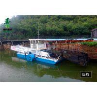 山东生产割草船的厂家|全自动垃圾打捞船|河道芦苇打捞工程船