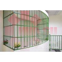 【华塑围栏】庭院围栏、小区围栏、花园围栏、竹节围栏、飘窗护栏