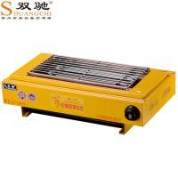 厂家直销双驰烧烤炉烤肉串机多功能单头温控商用电烤炉批发