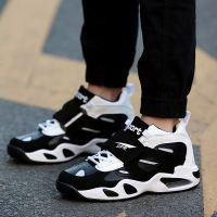 运动鞋春季男鞋子内增高8cm男士休闲鞋韩版潮流学生厚底跑步潮鞋