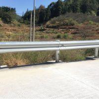 广东雷州公路波形护栏板 吴川高速防撞护栏 双波三波防护栏 可定制安装