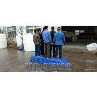 四川安全稳定2米聚乙烯塑料渔船 养殖捕鱼船 双层胶船