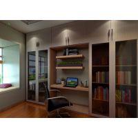 书柜外形多种多样,新房装修中选择书柜时样式和尺寸都要考虑