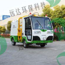 垃圾清运车辆侧挂电动驾驶垃圾环卫车