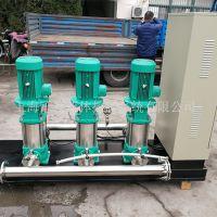 不锈钢立式给水泵 生活变频给水泵组 离心多级泵MVI9503【威乐变频泵组】