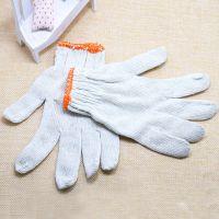 厂家直销加厚棉纱防护劳保手套电脑机针线棉线手套细线成人手套