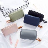 工厂韩国简约清新款化妆包小号便携防水收纳包袋口红包亚马逊爆款