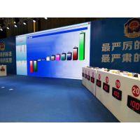 杭州步频350型竞赛无线抢答器出租,杭州比赛抢答计分器出题软件系统公司