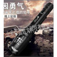中西LED防水强光手电筒 型号:397352库号:M397352