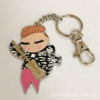 日本动漫周边 金属卡通钥匙扣吊饰 创意卡通包包金属锁匙挂件