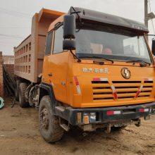 山西煤矿急售大量陕汽奥龙自卸车,340马力,奔驰桥,海沃顶,5.6大箱,忻州实地看车