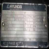韩国现代电机 HYUNDAI HL095AL251E 1.5KW 440V 90L 4P 价格低