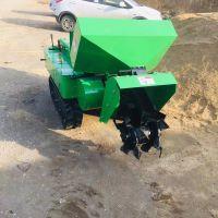 启航山林开沟回填机 小坦克式树木养护埋肥机 松土除草机
