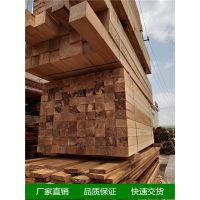 上海印尼菠萝格原木进口与板材定尺寸加工
