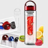 厂家直销塑料户外运动水壶塑料水杯创意水果杯子广告礼品定制logo