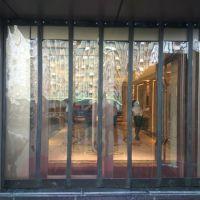 商场空调隔热透明挡风磁性软门帘