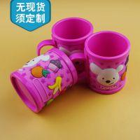 广告促销礼品硅胶马克杯定做 环保耐高温卡通马克杯 杯套厂家