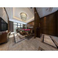 【山水装饰阜阳公司】亳州碧桂园230平米中式别墅设计案例
