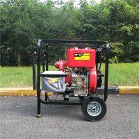 小型便携式柴油机水泵HS30HP