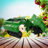 驰航柿子树专用深度追肥机 大马力柴油自走式开沟机 电打火履带开沟机