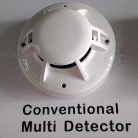 传统烟温复合探测器 烟感温感一体报警器 2 wires smoke heat detector