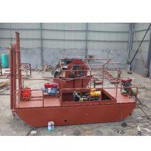 凯翔 小型抽砂机械 自卸式抽砂机械价格 自卸式抽砂机械