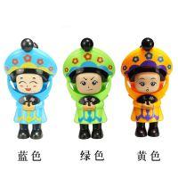澄海玩具变脸士兵塑料儿童玩具地摊货 源头货源趣味变脸娃娃平价