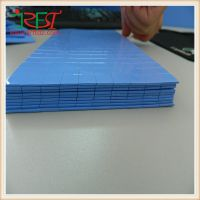 厂家供应3M背胶绝缘导热硅胶片 按客户要求裁切大小,强粘性
