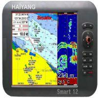 韩国海洋 HD-1000C船用卫星GPS 10寸二合一海图机 进口海图卡