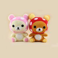 新款创意可爱卡通小熊手机挂件 钥匙扣小熊装饰品  小熊玩偶挂件