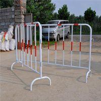 红白铁马临时隔离护栏 市政交通护栏