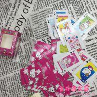 韩版KT盒装金属链条扑克牌卡通图案斗地主桌面休闲游戏便携钥匙扣