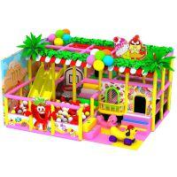 温州蒙童 淘气堡儿童室内游乐园 室内儿童乐园 粉色糖果系列主题乐园