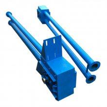 汕头市不锈钢管道式输送机 多机组合式管链上料机