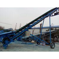 升降挡边输送机专业生产 电动升降皮带机