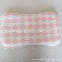 新款宝宝3D透气印花枕 婴儿定型枕 卡通可爱花型 可贴牌加工