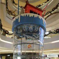 亚克力大型杯子商场中庭装饰道具杯奶茶杯万达广场可乐杯