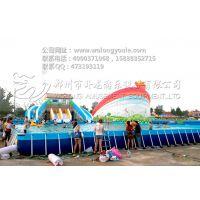 移动水上乐园为返乡创业带来新机遇 儿童充气水乐园的报价 郑州卧龙厂家
