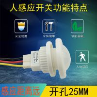深圳市供应感应开关人体感应探头开关40W节能LED感应开关楼道感应器220V红外感应模块开关100W