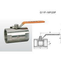 埃美柯8252A不锈钢球阀棒式(镀铬铜芯304)DN15 DN20 不锈钢球阀