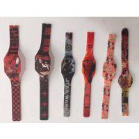 儿童手表超薄LED手表 硅胶电子礼品手表 触摸屏手表